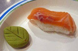 Nigiri and Leaf Wasabi