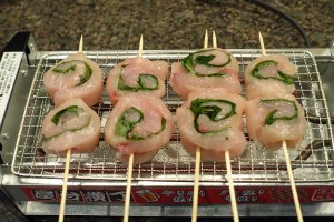 Ume Rolls Cooking