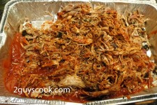 Pulled Pork with Sauce