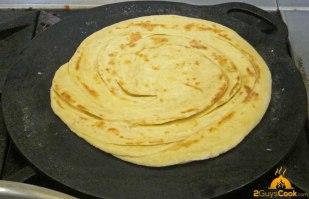 Paratha Cooking