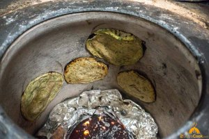 Bread in Tandoor